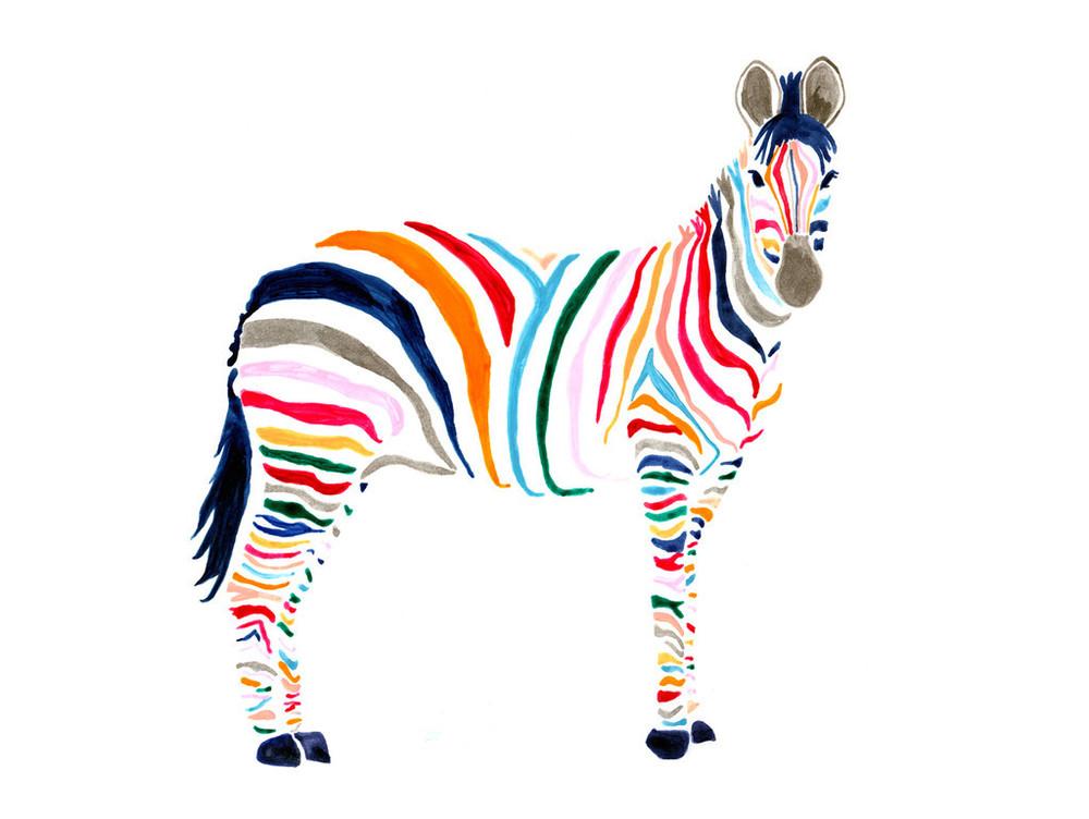 Britt Browne - Zebra