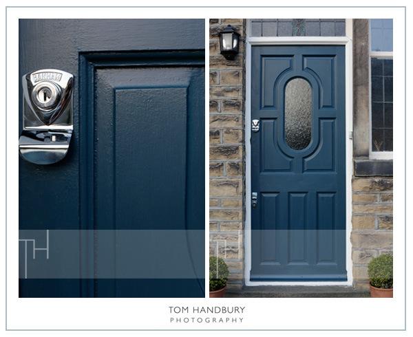 hague blue door via  Tom Handbury Photography