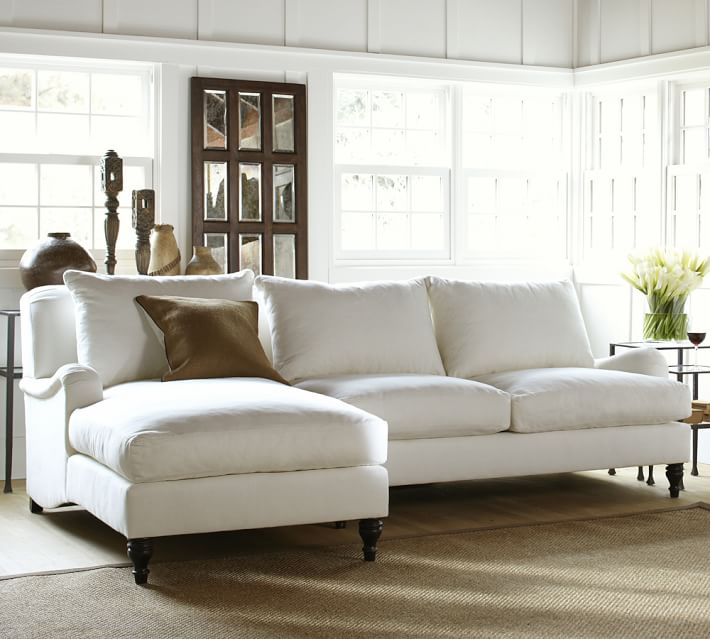 Carlisle sectional  by  Pottery Barn