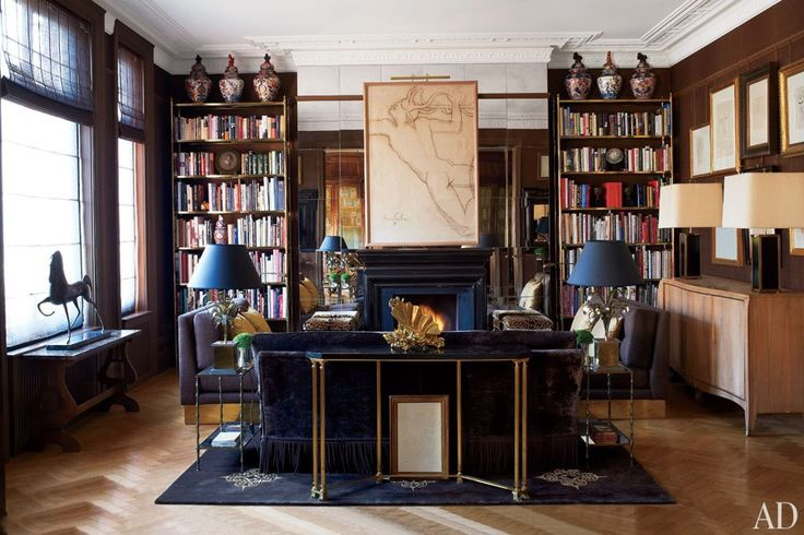 Home of Paolo Moschino and partner Philip Vergeylen via Architectural Digest