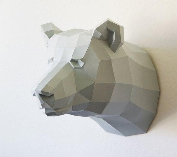 Papercraft Bear
