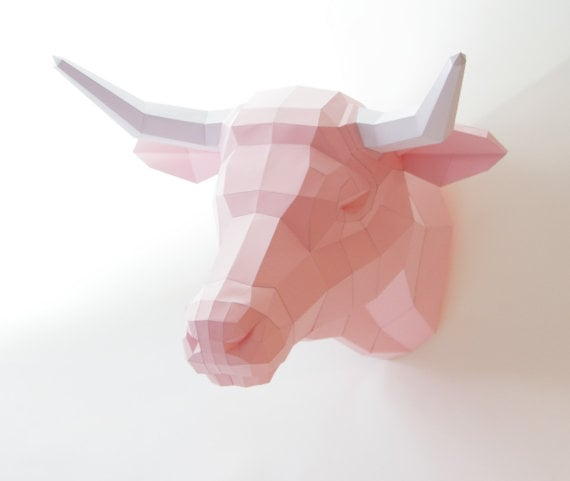 Papercraft Cow