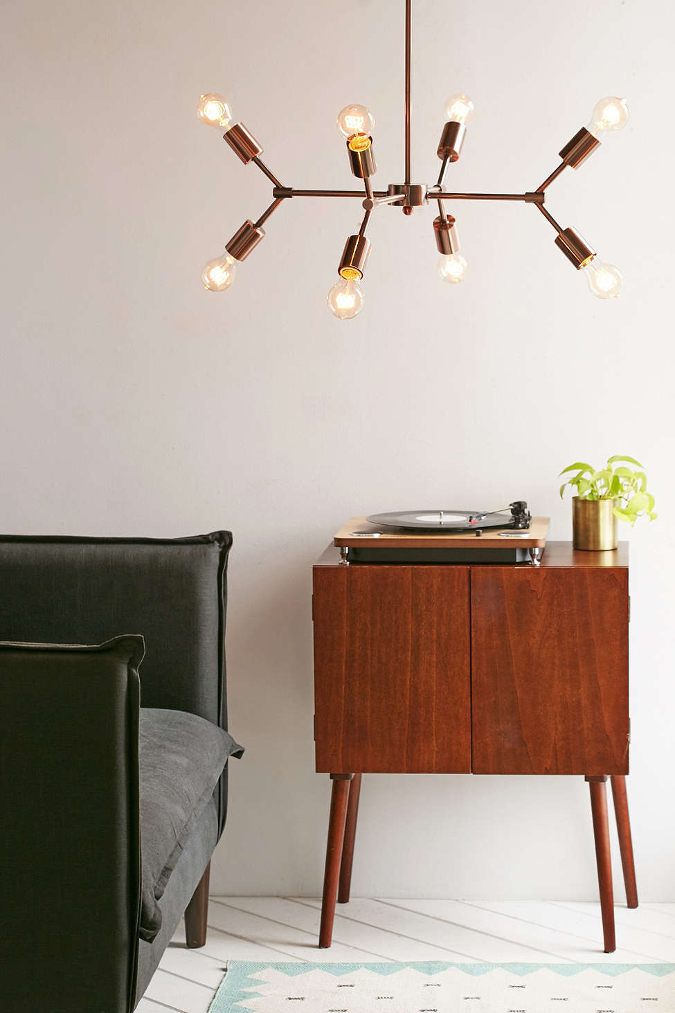 4040 Locust Metal Pipe Pendant Light by Urban Outfitters