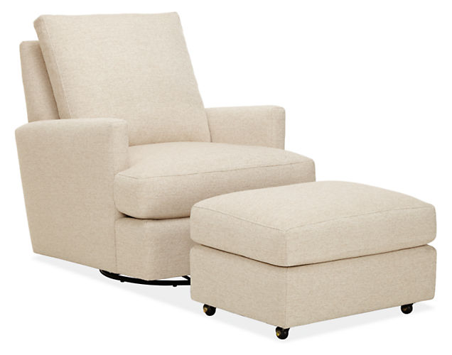 colton swivel glider chair by Room & Board