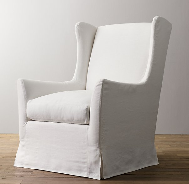 wingback swivel glider by RH Baby & Child