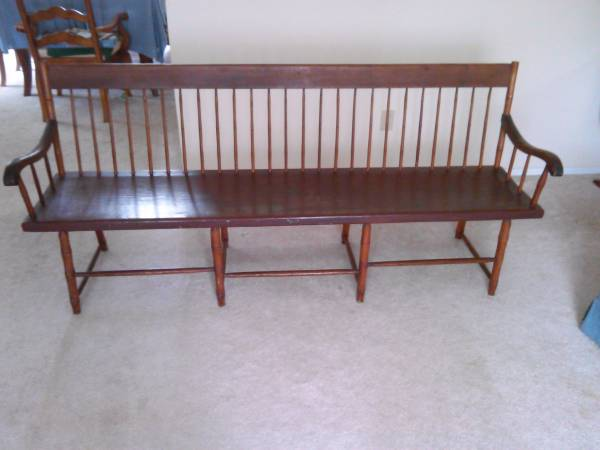 1860's Deacon's Bench