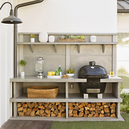 simple outdoor kitchens  october 9, 2015