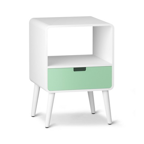 1-Drawer Mid-Century Kids Nightstand- THE PLACE HOME