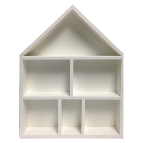 House Cubby Wall Shelf- THE PLACE HOME