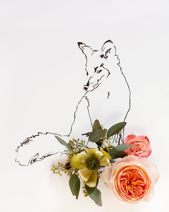 Fox by Kari Herer | THE PLACE HOME