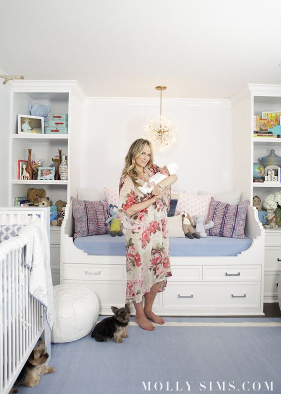 home of Molly Sims via  Pop Sugar  | THE PLACE HOME
