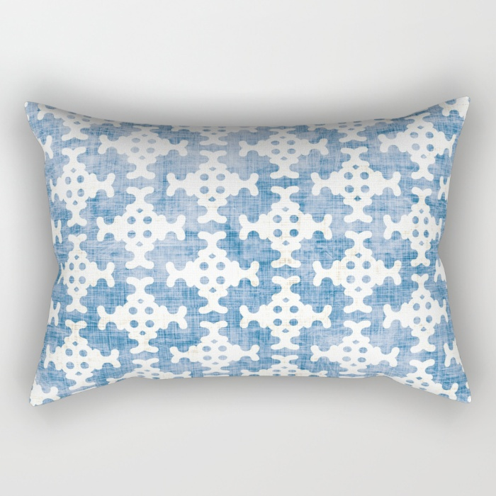 tribal ikat pillow by holli zollinger | THE PLACE HOME