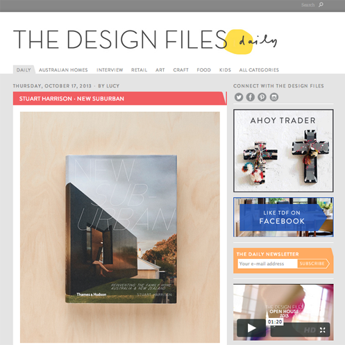 resource review: the design files october 17, 2013