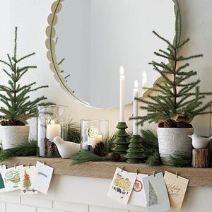 holiday card displays | 12.22.2014