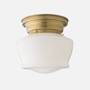 a flush mount light for the office | 11.19.2014