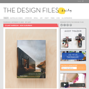 resource review: the design files | 10.17.2013