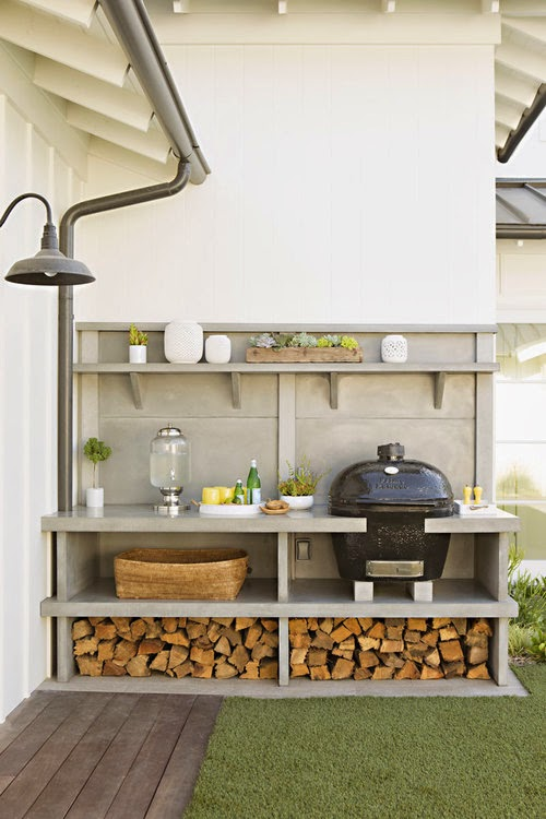 simple outdoor kitchens | 10.9.2015