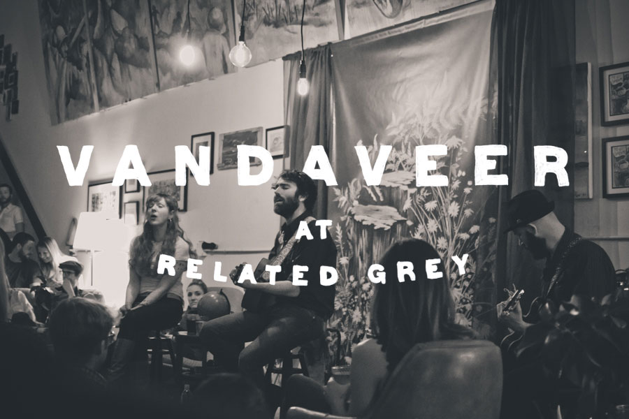 Vandveer plays at Related Grey in April 2014.