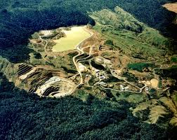 Golden Cross During Mining