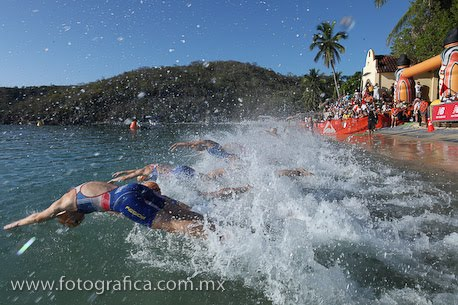 Triathalon in a tailings pond! Fresnillo, parque de los jales