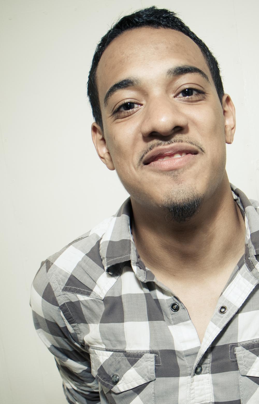 Comedian Crystian Ramirez