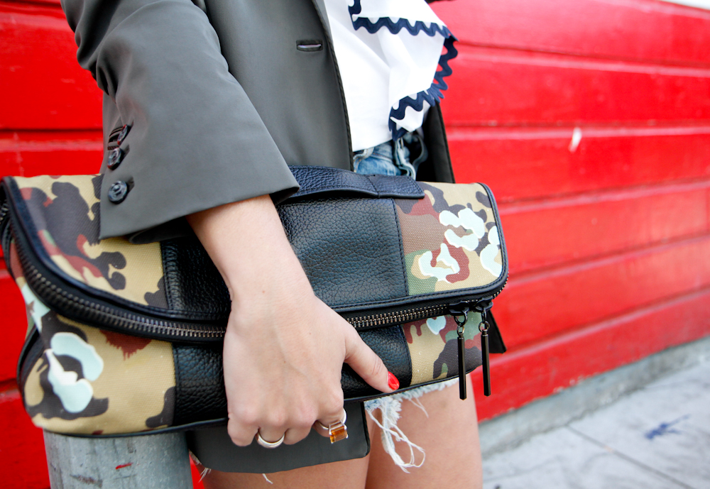 Camo Clutch : similar here and here