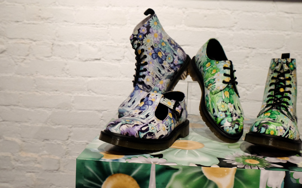 Floral Boots  here