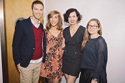 The panelists (photo courtesy of Kat Harris)