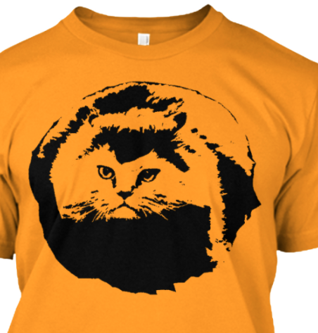New shirts!< - - click there to see new Hover Kitty T Shirt designs by @frankxor