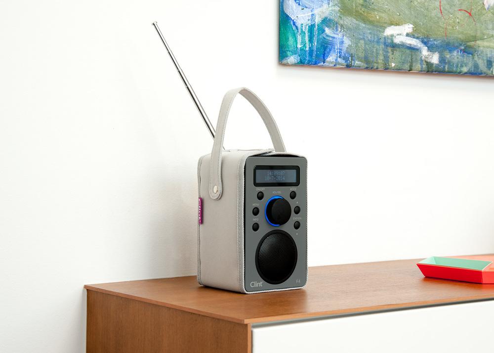 F4 Radio Portable battery operated DAB+/FM Radio
