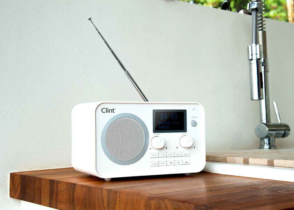 L1 Radio Classic table Radio with DAB+/FM/Bluetooth Radio
