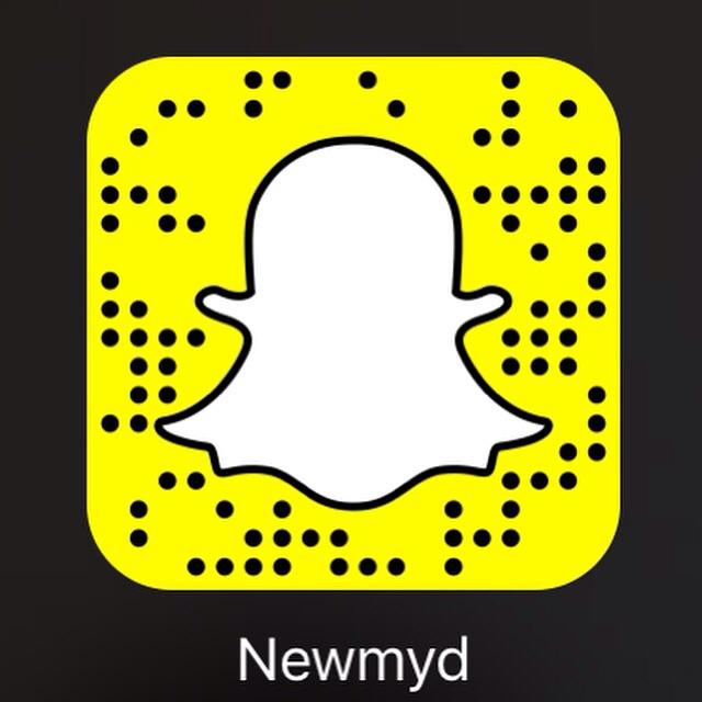 My SnapChat username Newmyd
