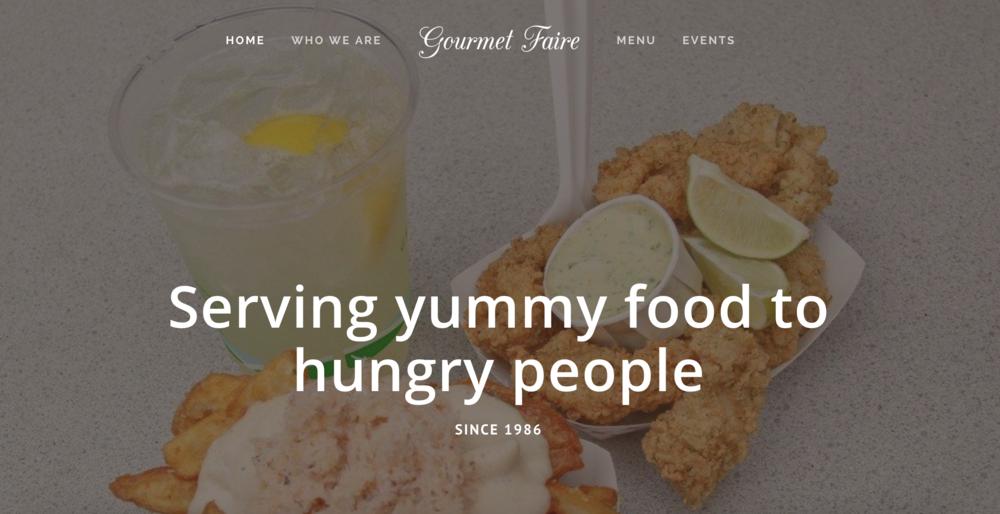 Gourmet Faire