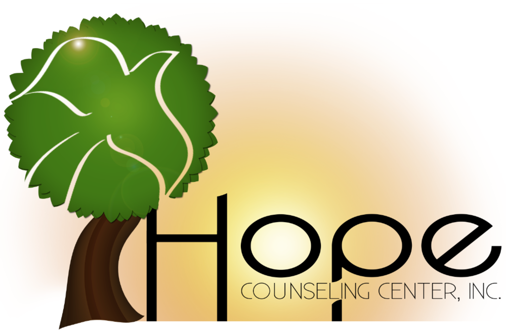 "Logo<a href=""#"">◉</a><strong>Hope Counseling</strong>"