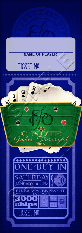 "Ticket<a href=""#"">◉</a><strong>C-Note Poker Tourney</strong>"