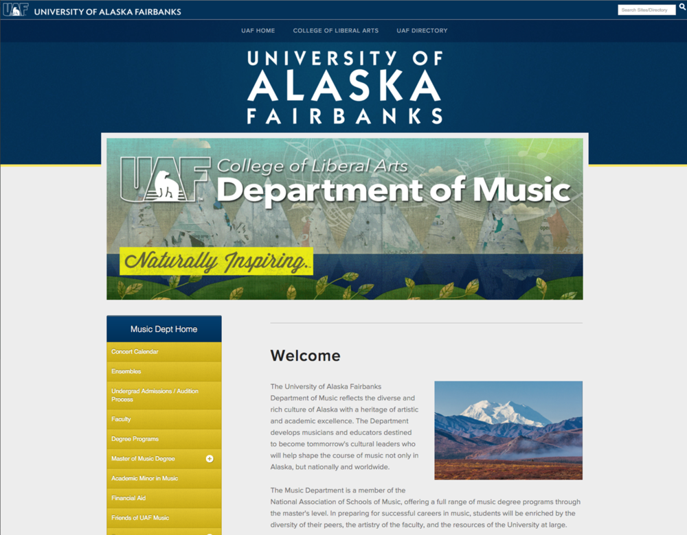 UAF Department of Music