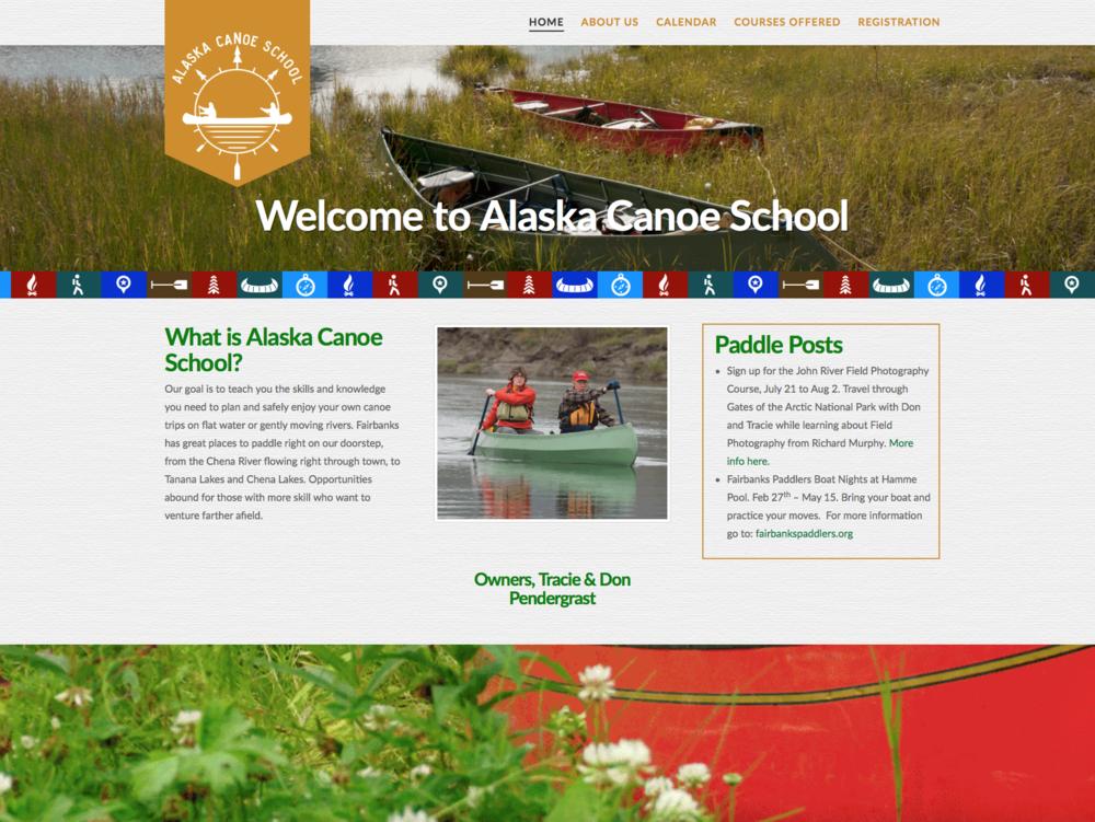 Alaska Canoe School