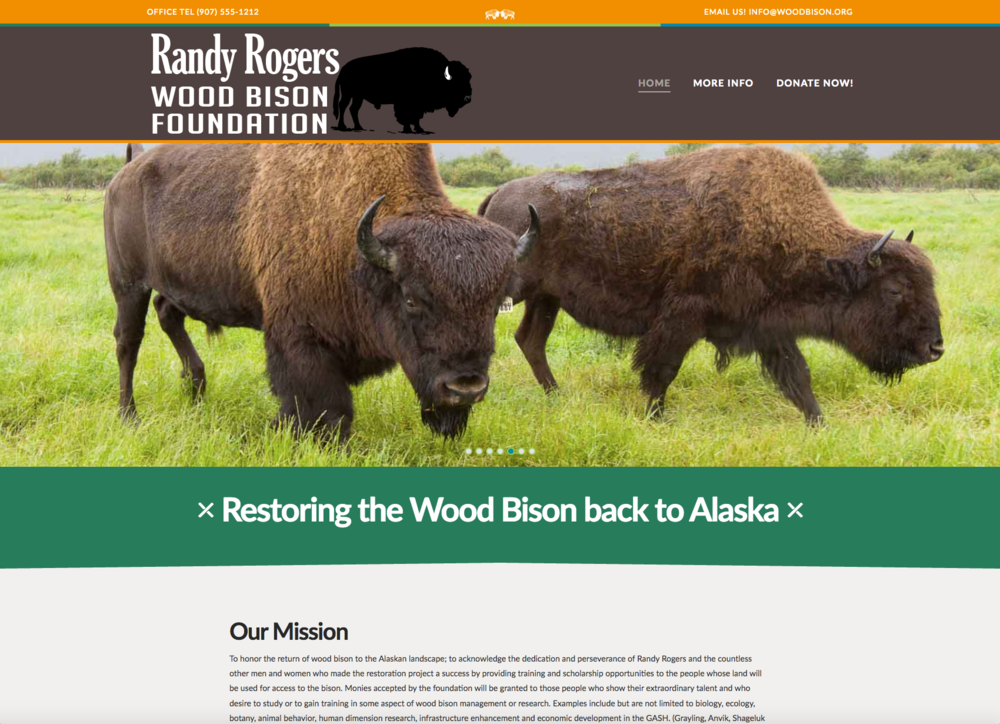 Randy Rogers Wood Bison Foundation
