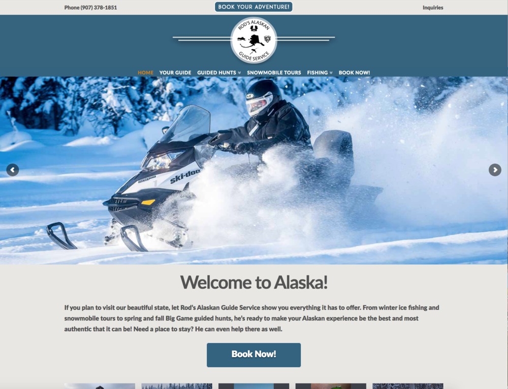 Rod's Alaskan Big Game & Wilderness Guide Services