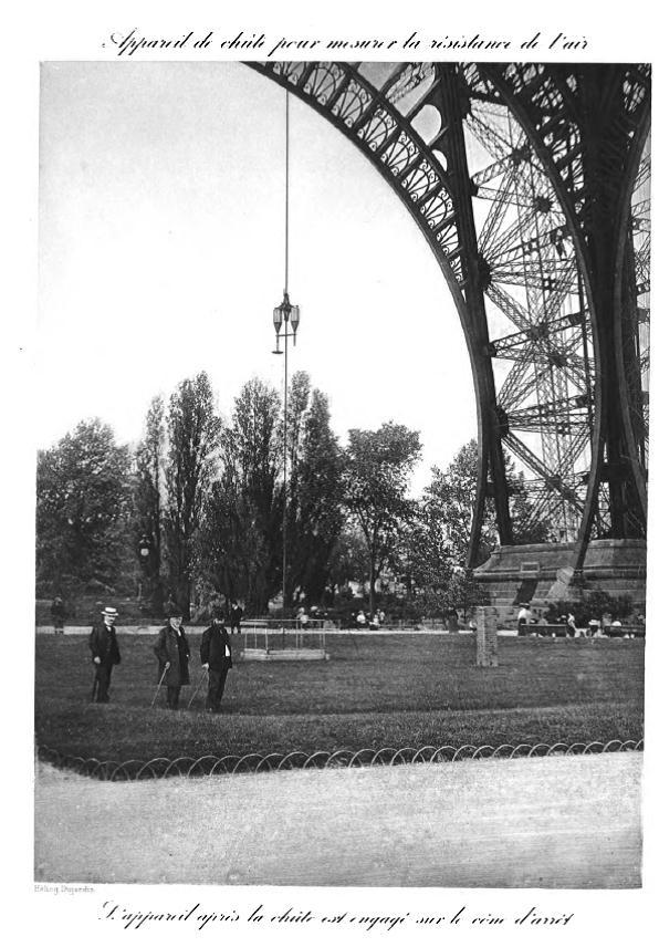 Figure 5: Second Platform Laboratory, from Gustave Eiffel's Recherches expérimentales sur la résistance de l'air exécutées à la tour Eiffel