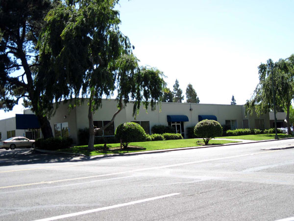 Intel's original building at 365 E. Middleford Road in Mountain View combined production, sales, and research and development.