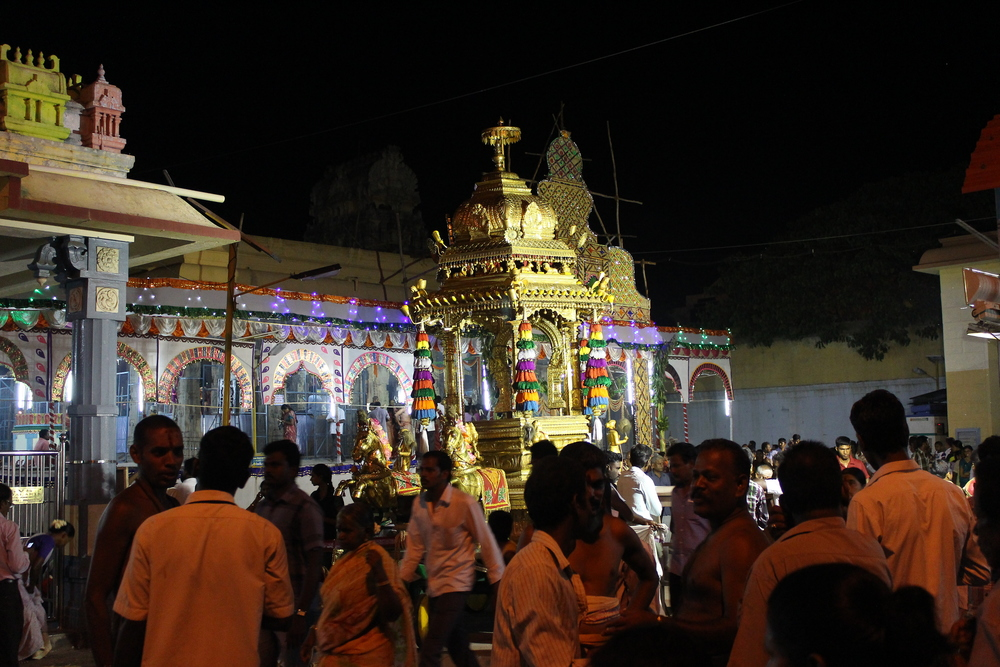 Figure 1- Kamakshi Amman Temple, Kanchipuram during Sahasra Candi Yajña, July 2014