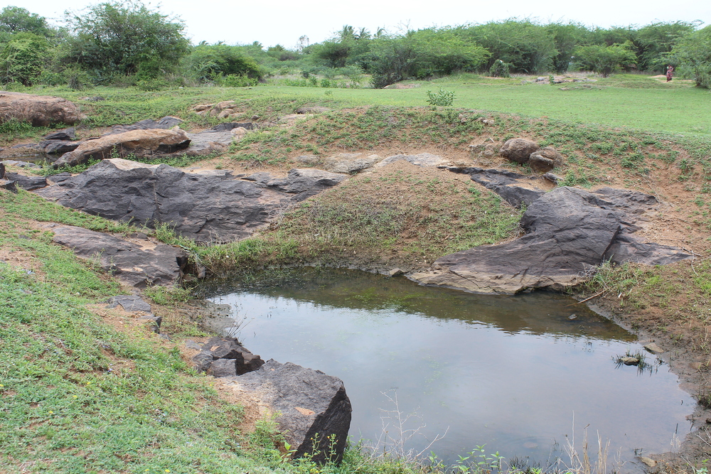 Figure 23- Quarry area, Arpakkam, From south