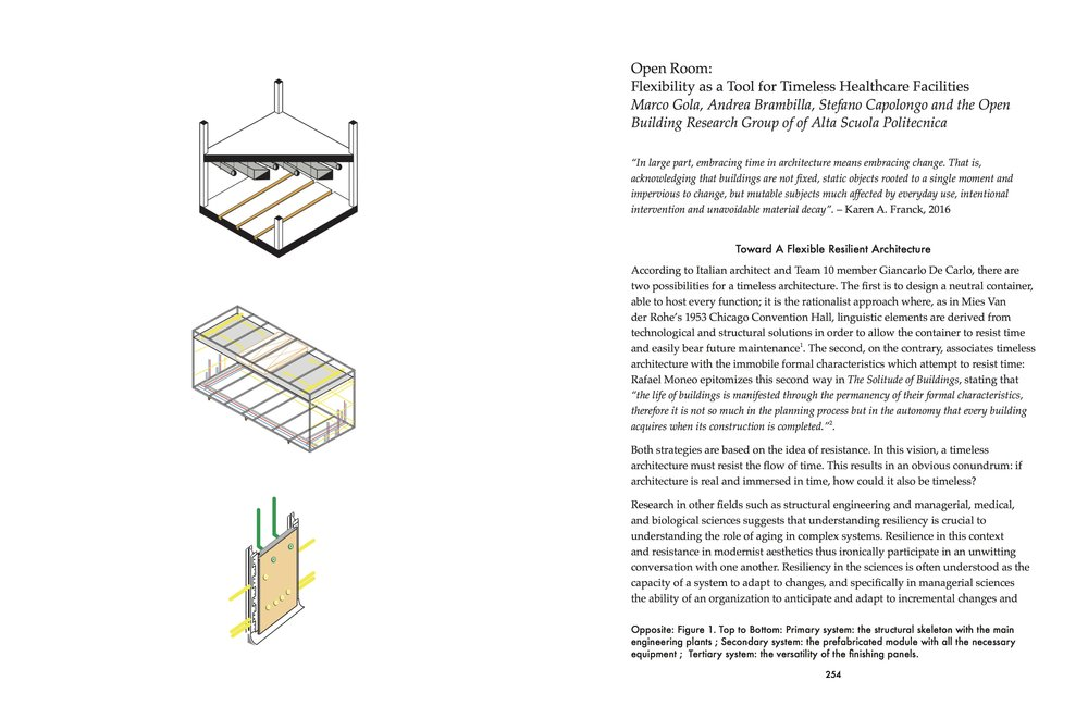 """Open Room"" by Marco Gola, Andrea Brambilla, Stefano Capolongo and the Open Building Research Group."