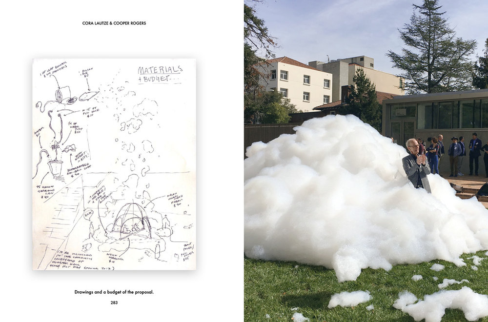 """Foam Parti"" by Cooper Rogers and Cora Lautze, winner our of inaugural design/build competition."