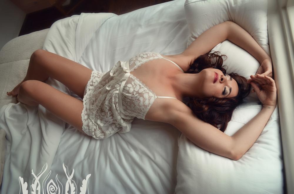 Ivory Rose Boudoir goddess bride survivor