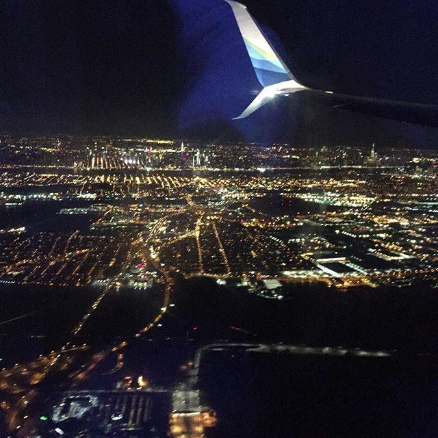 Beautiful view approaching Newark airport #rozefurniture