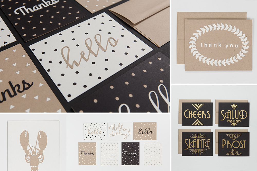 2013 Papercut Card Collection | Evermore Paper Co.