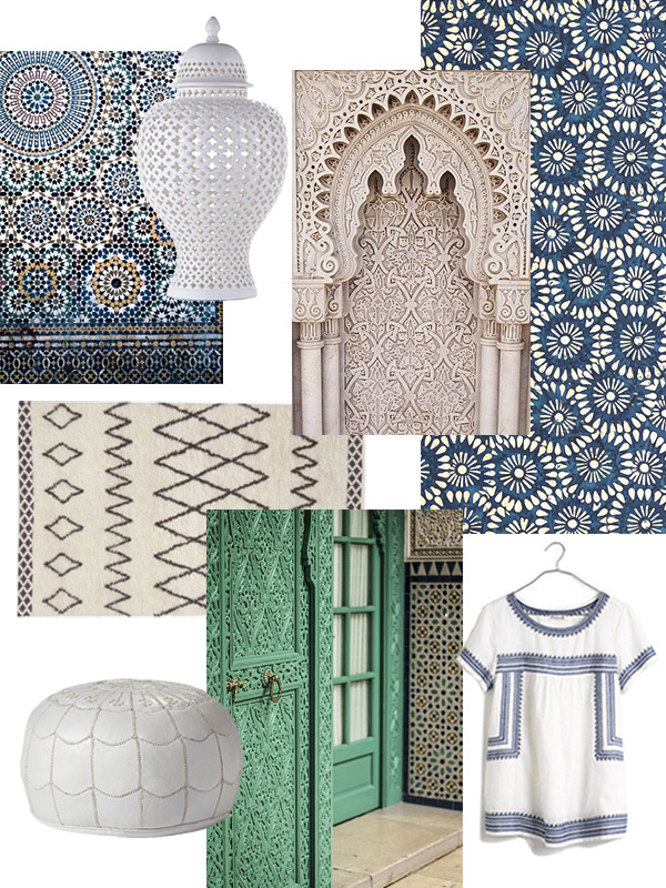 Moroccan Design Inspiration // Evermore Paper Co.