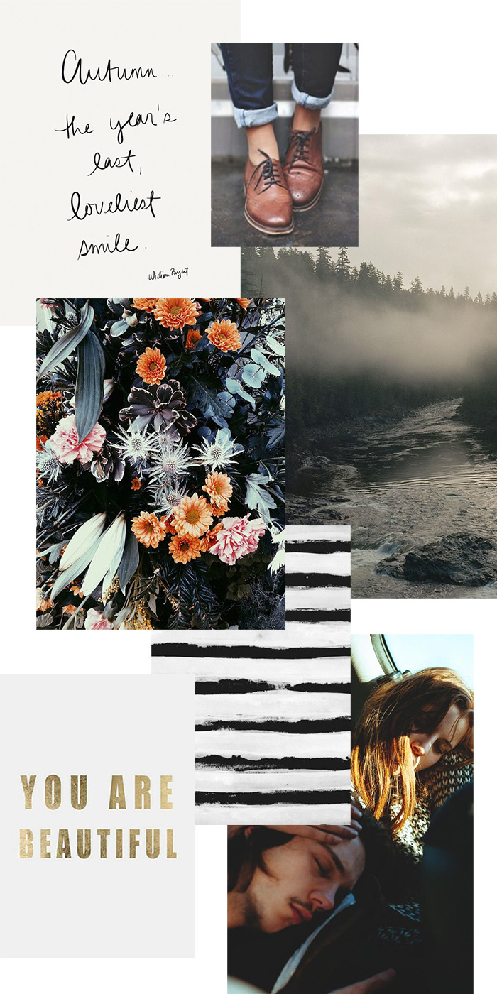 Process Pt. 1 // Mood Board
